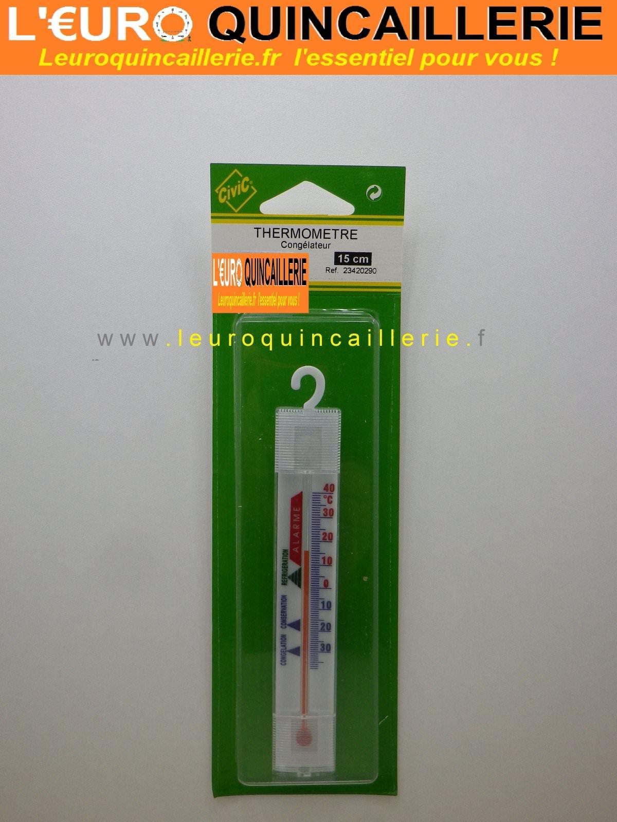 Thermomètre congélateur 15 cm