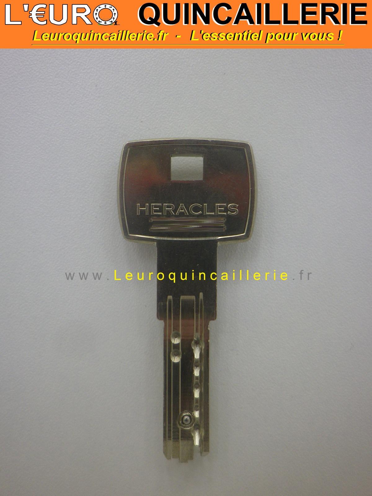 Clé brevetée HÉRACLÈS IX6B à bille sur numéro