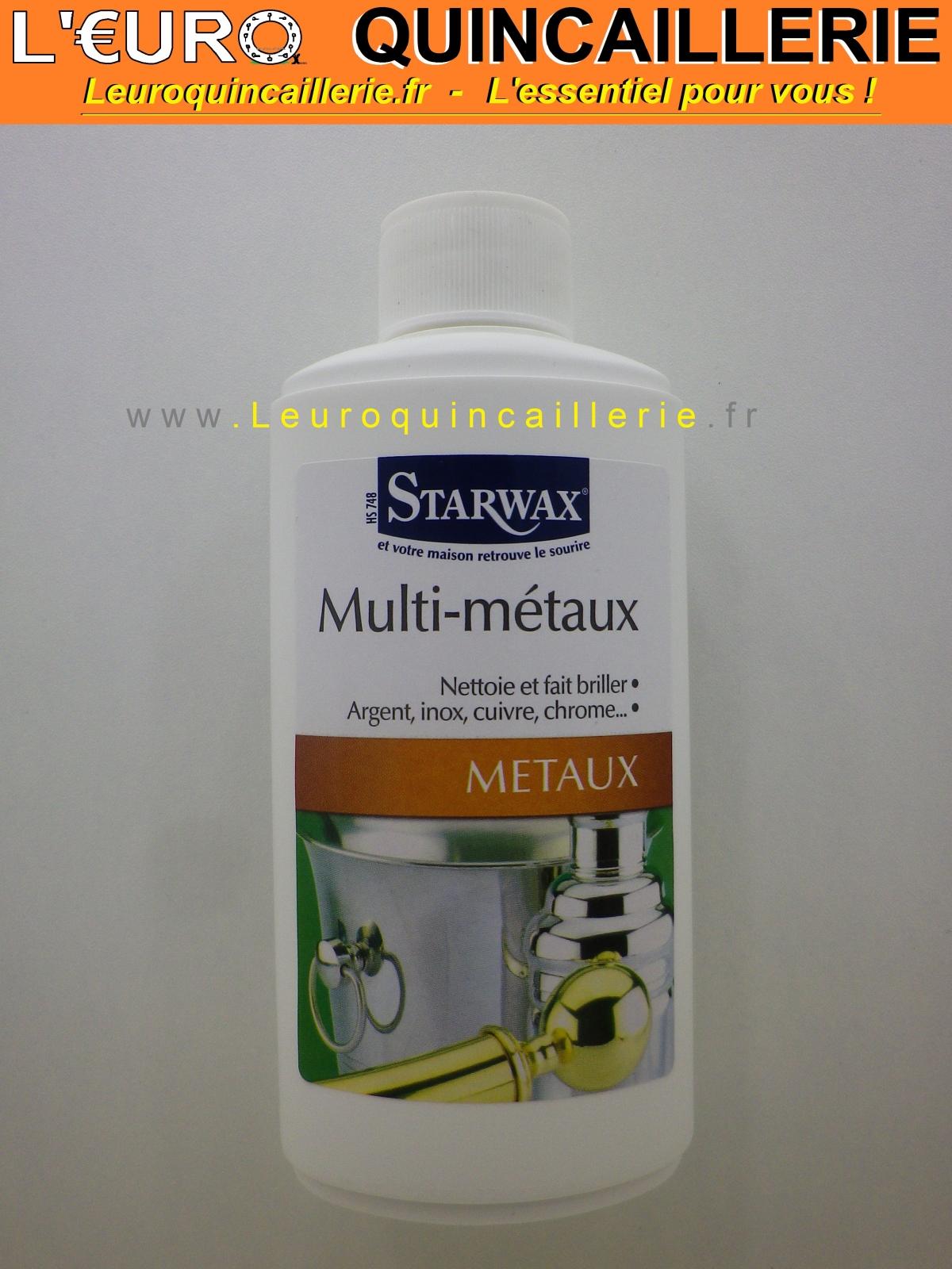 Nettoyant spécial Multi métaux Starwax 250ml