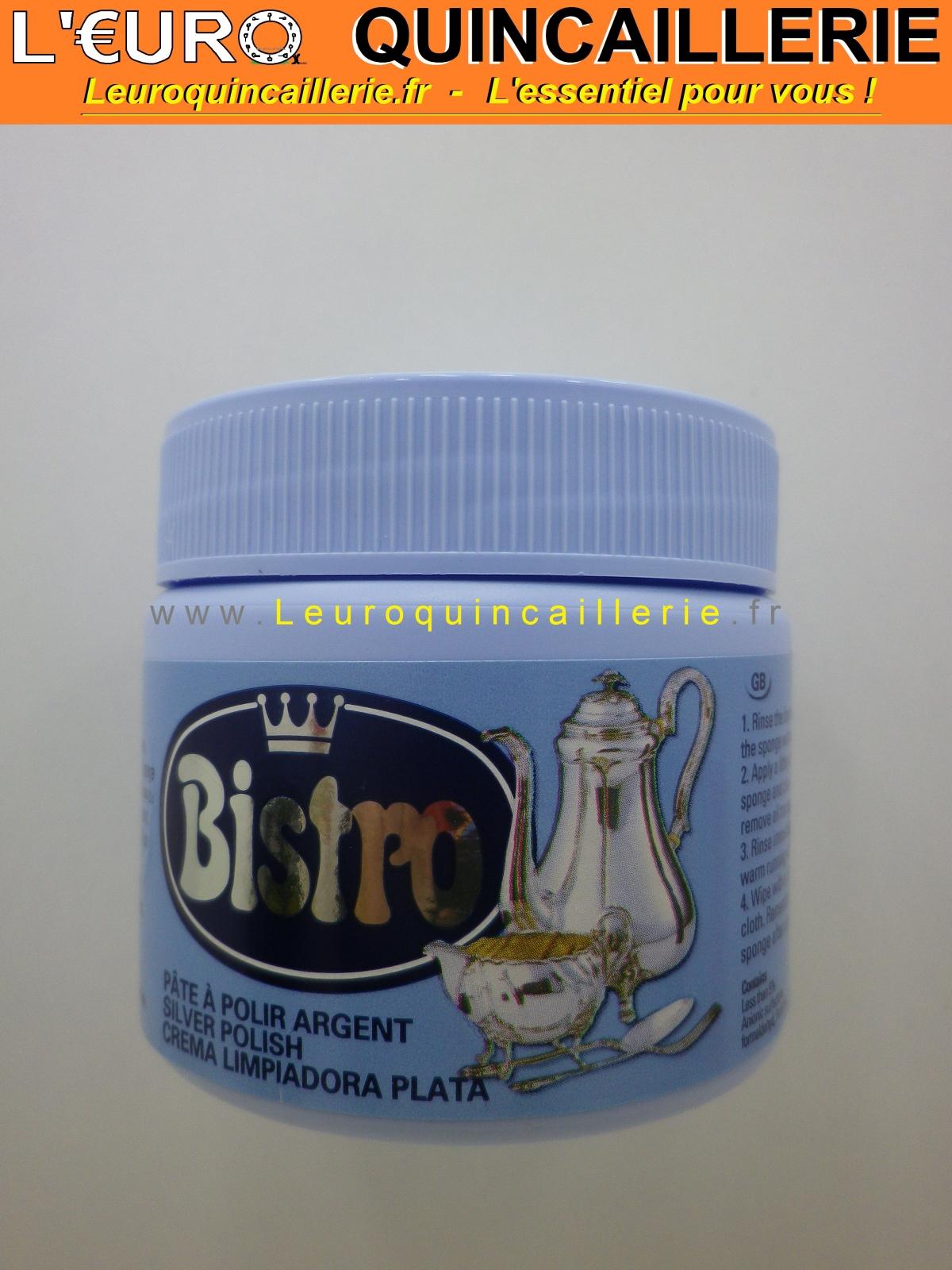 Pâte à polir argent Bistro 150ml