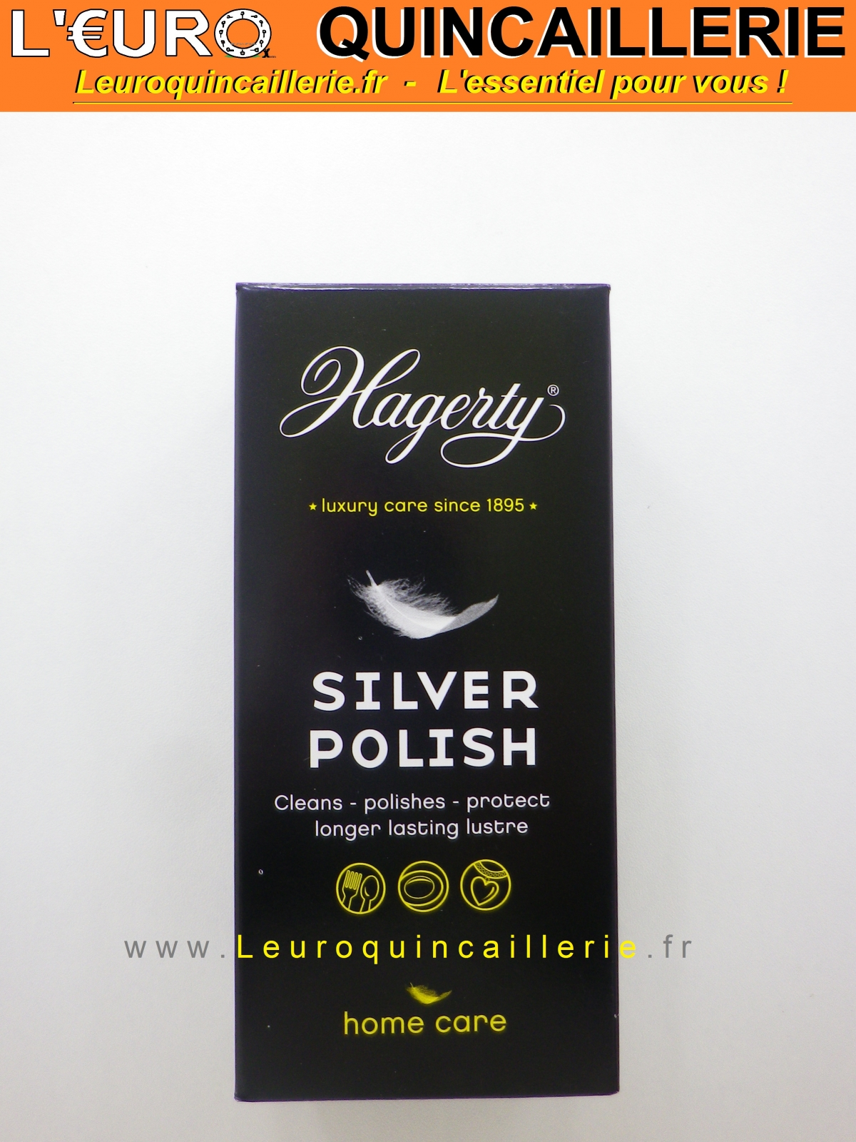 silver polish hagerty lotion nettoyante pour argent 100ml drogueries nettoyant m taux. Black Bedroom Furniture Sets. Home Design Ideas