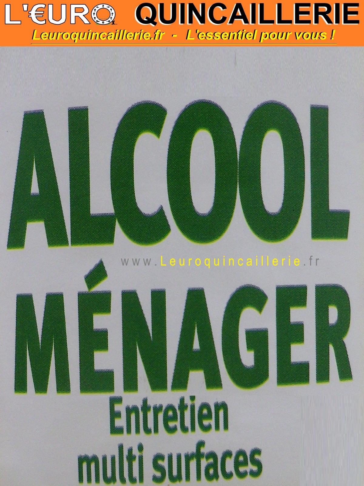 Alcool Ménager Parfum Basilic