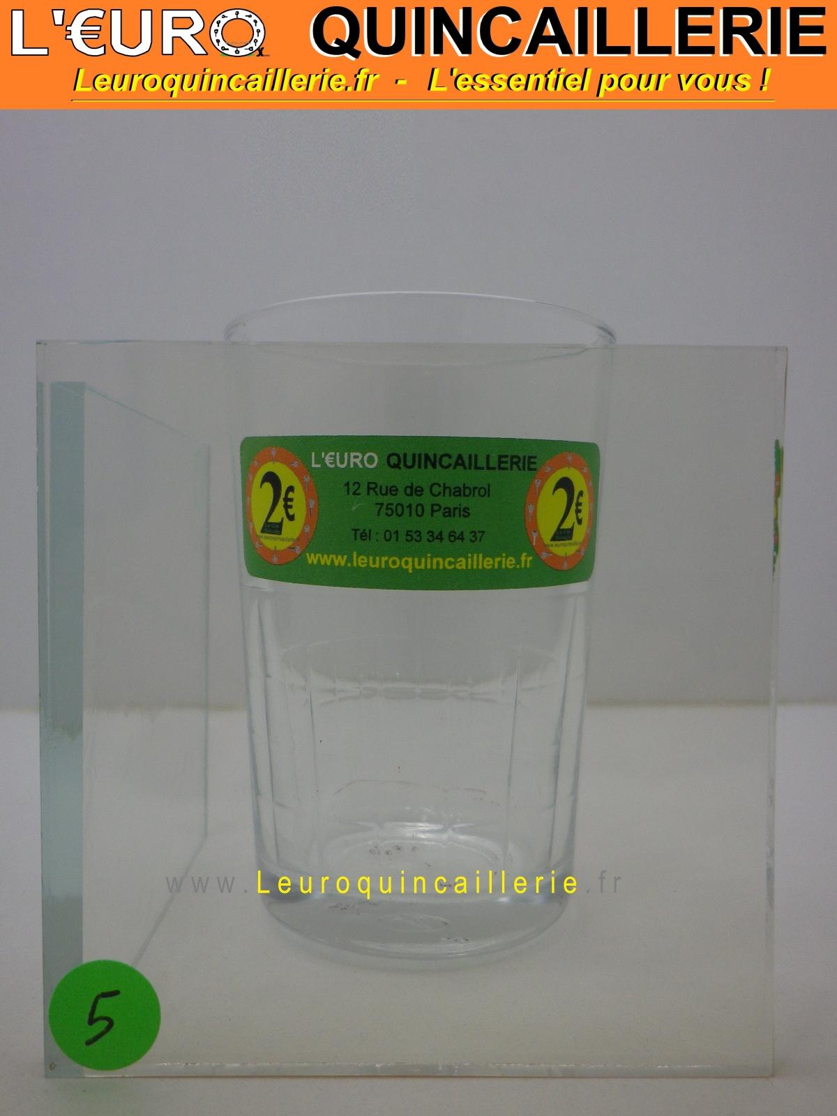 Verre Néoceram pour Insert 4 mm