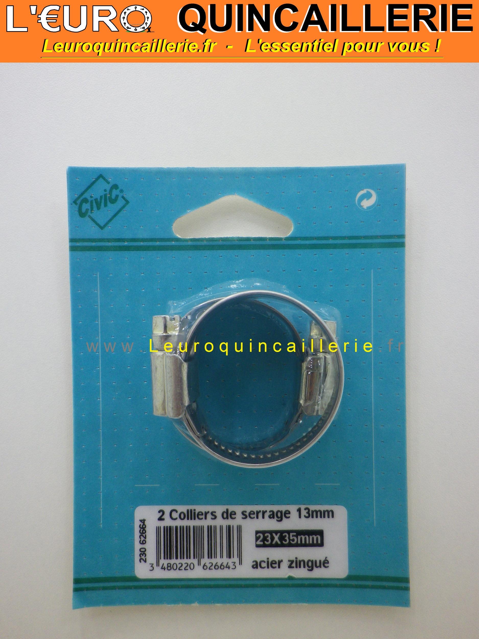 Collier de serrage 23 à 35 mm