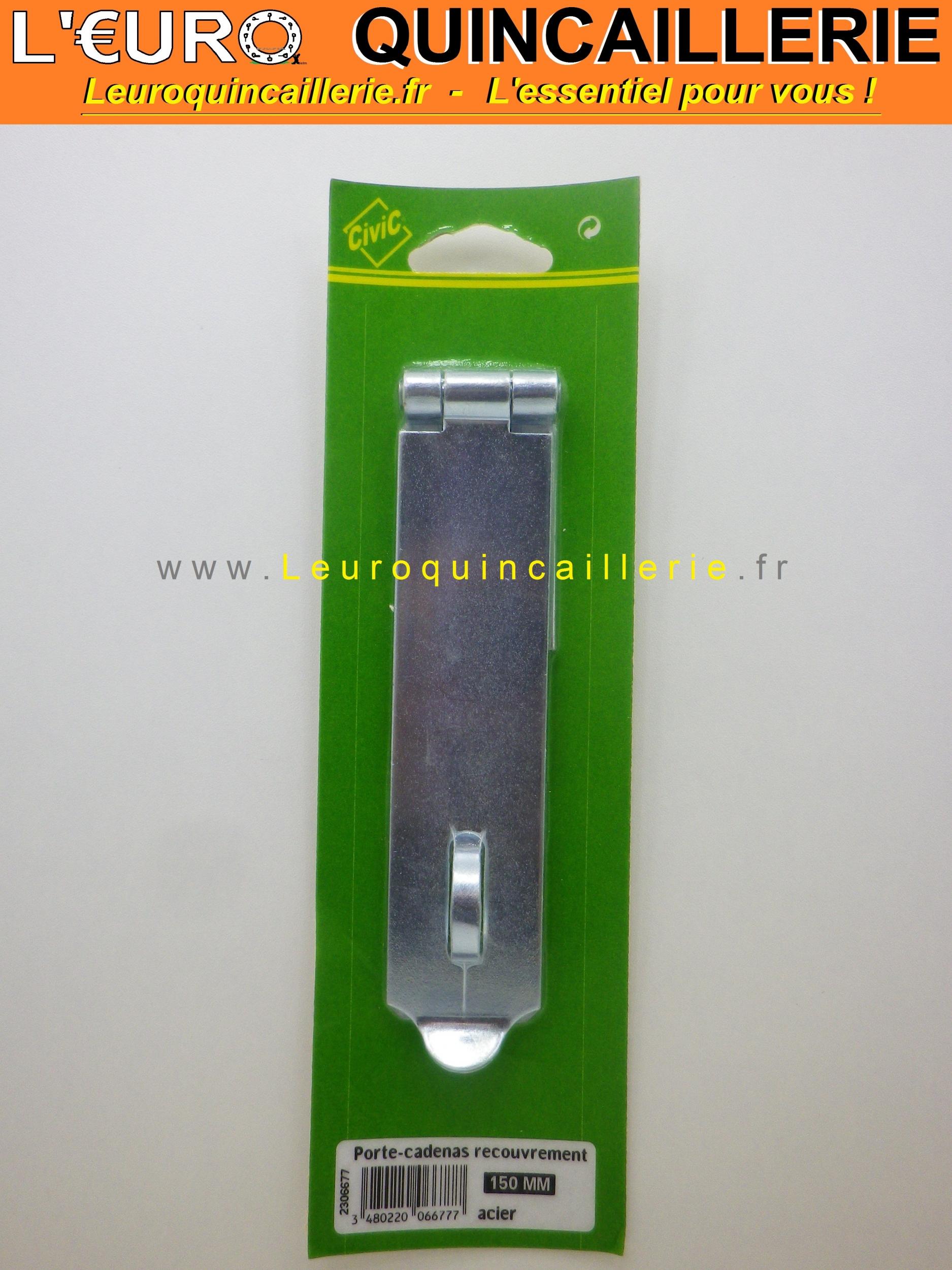 Porte-cadenas à recouvrement 100 mm