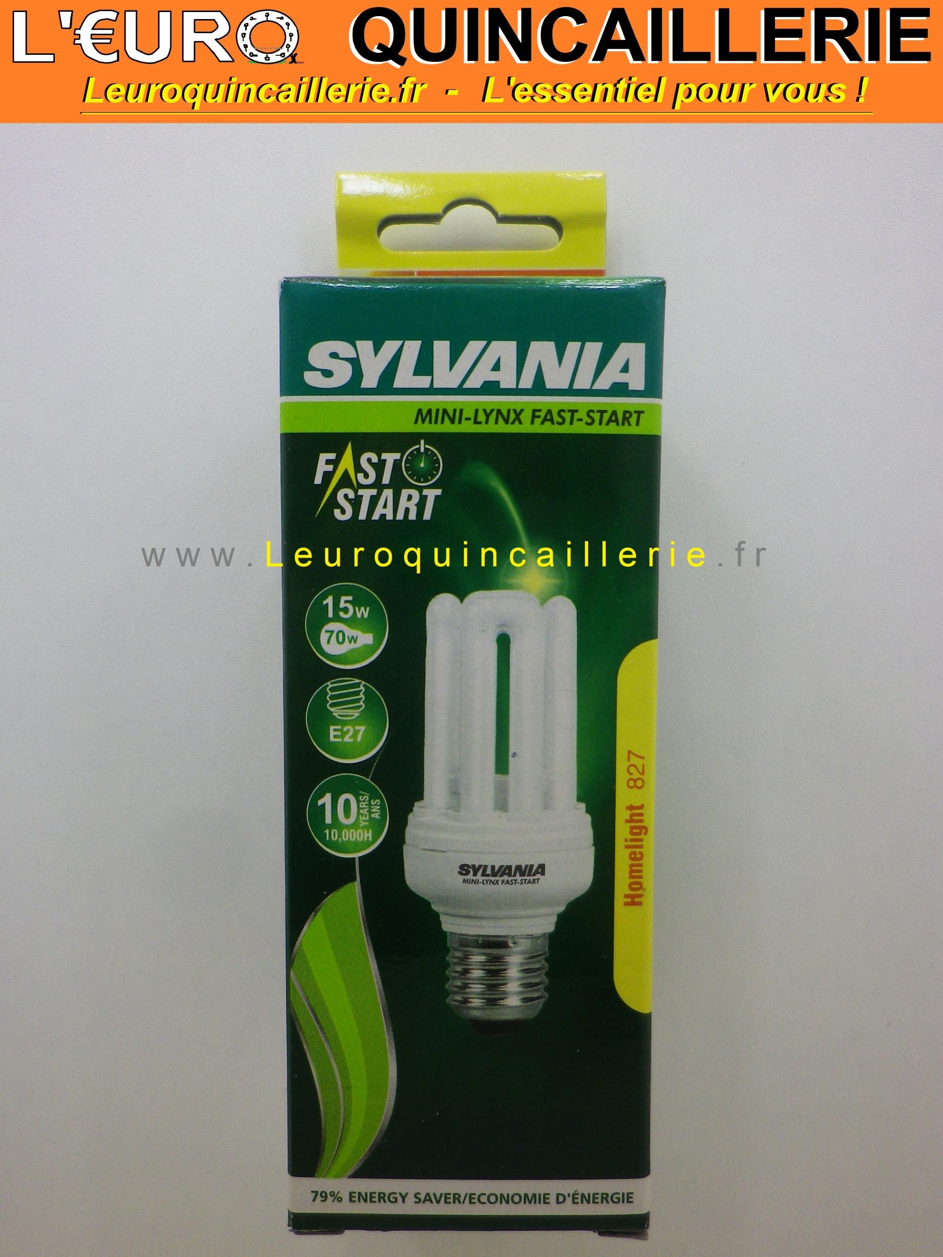 Ampoule basse consommation E27 15w=70w