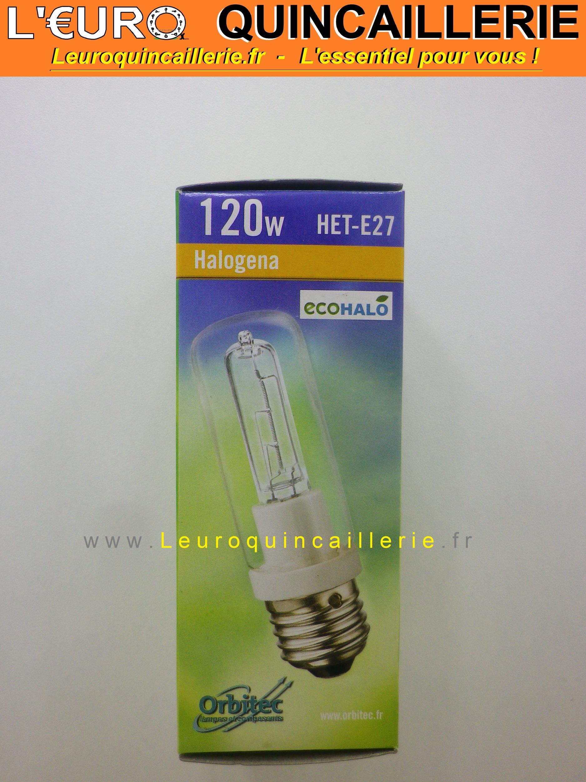 Ampoule économie halogène E27 120w=150w