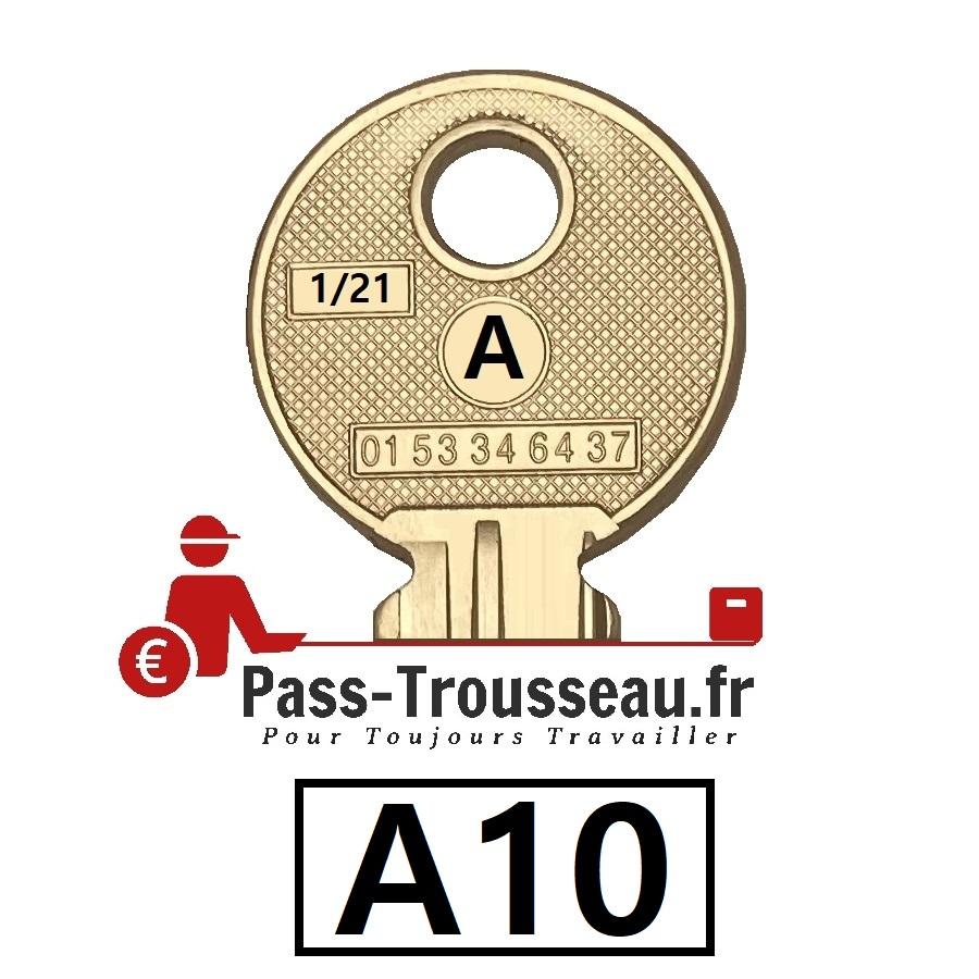 La clé A10 pass ptt 1sur21