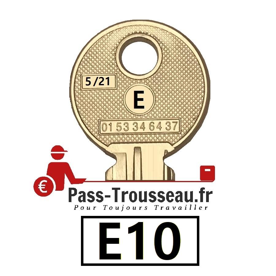 La clé E10 pass ptt 5sur21