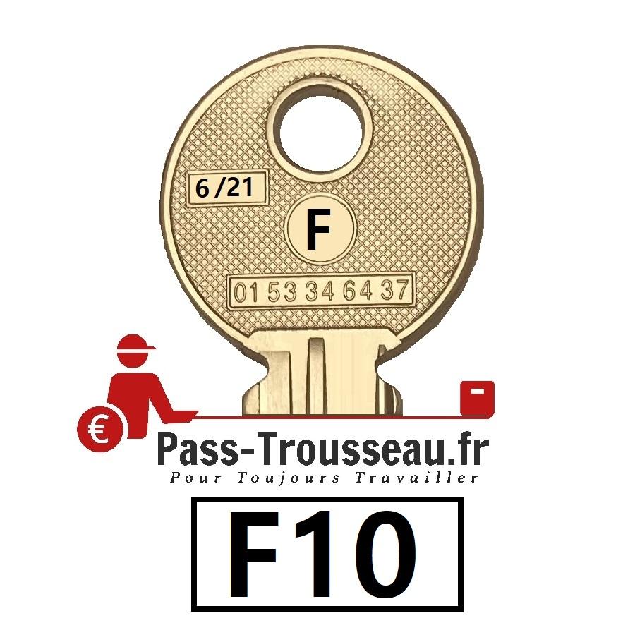 La clé F10 pass ptt 6sur21