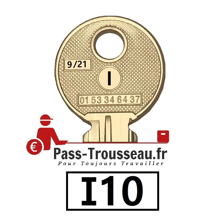La clé I10 pass ptt 9sur21