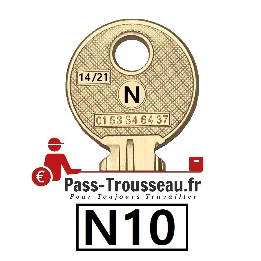 La clé N10 pass ptt 14sur21