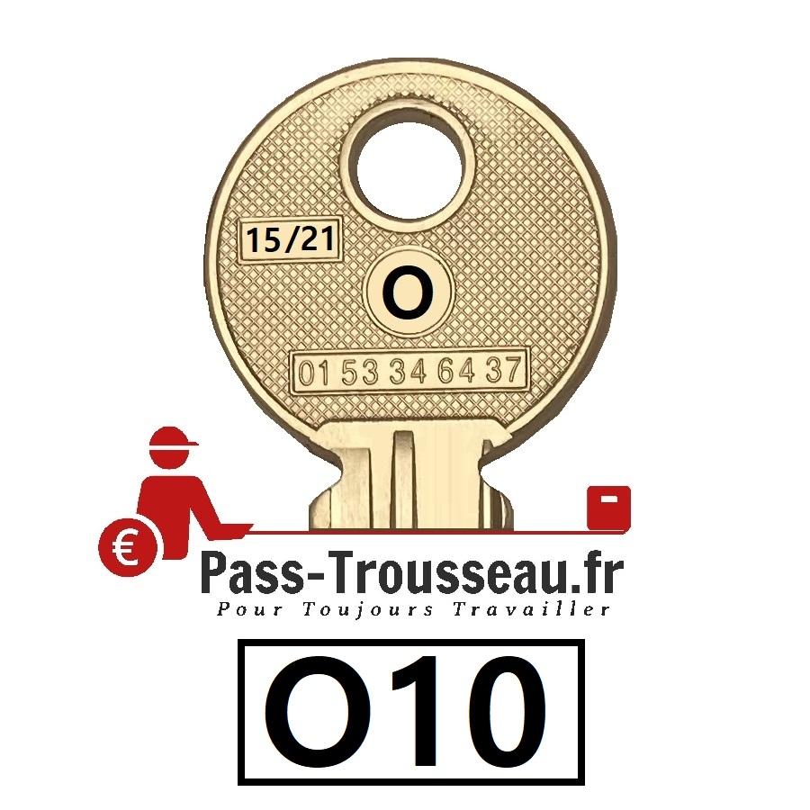 La clé O10 pass ptt 15sur21