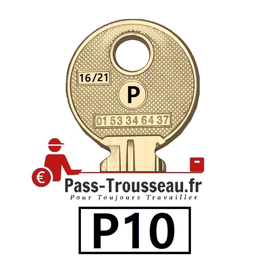 La clé P10 pass ptt 16sur21
