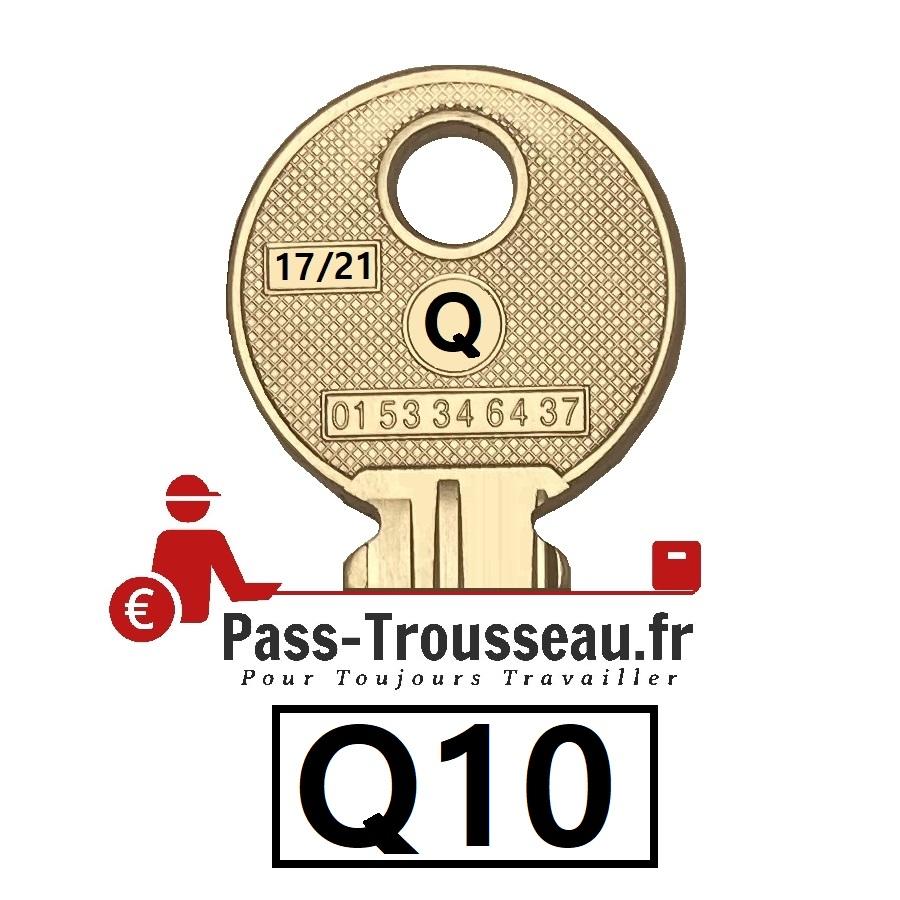 La clé Q10 pass ptt 17sur21