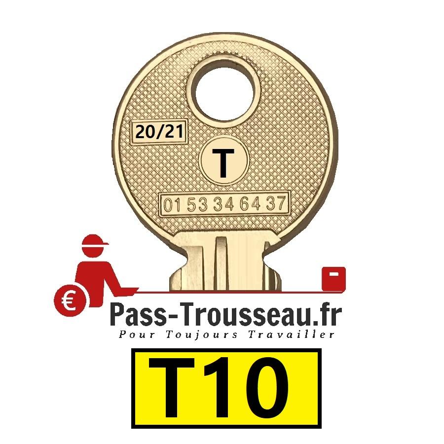 La clé T10 pass ptt 20sur21