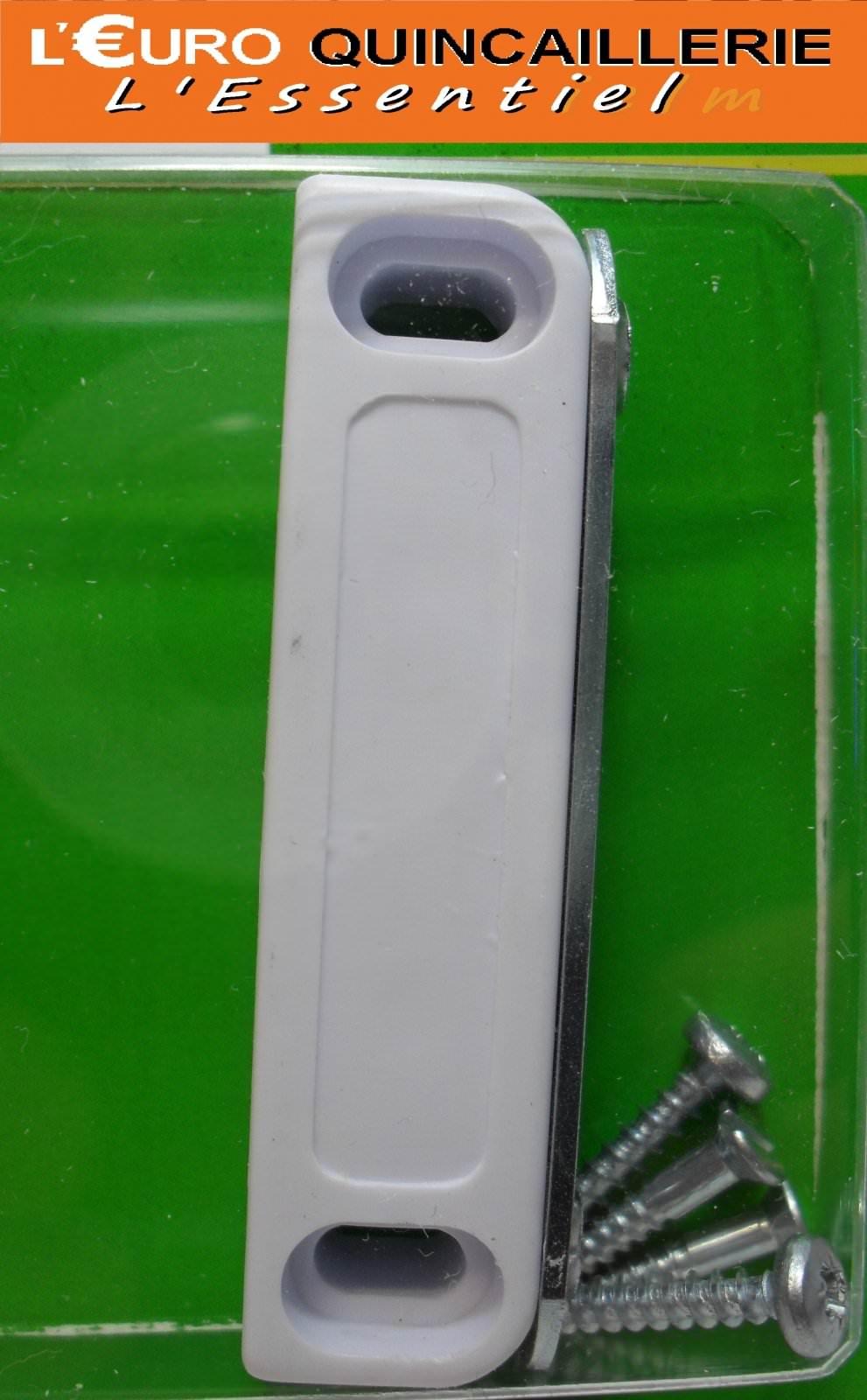 Loqueteau magnétique blanc 5kg