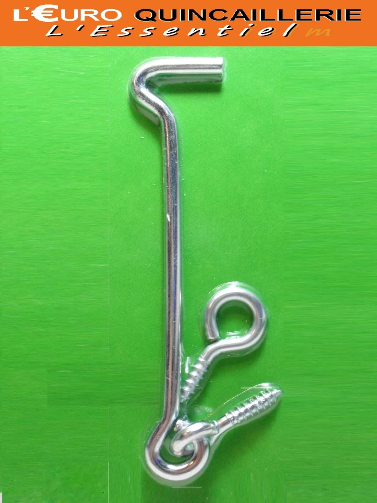 1 Crochet de contrevent 4x100mm