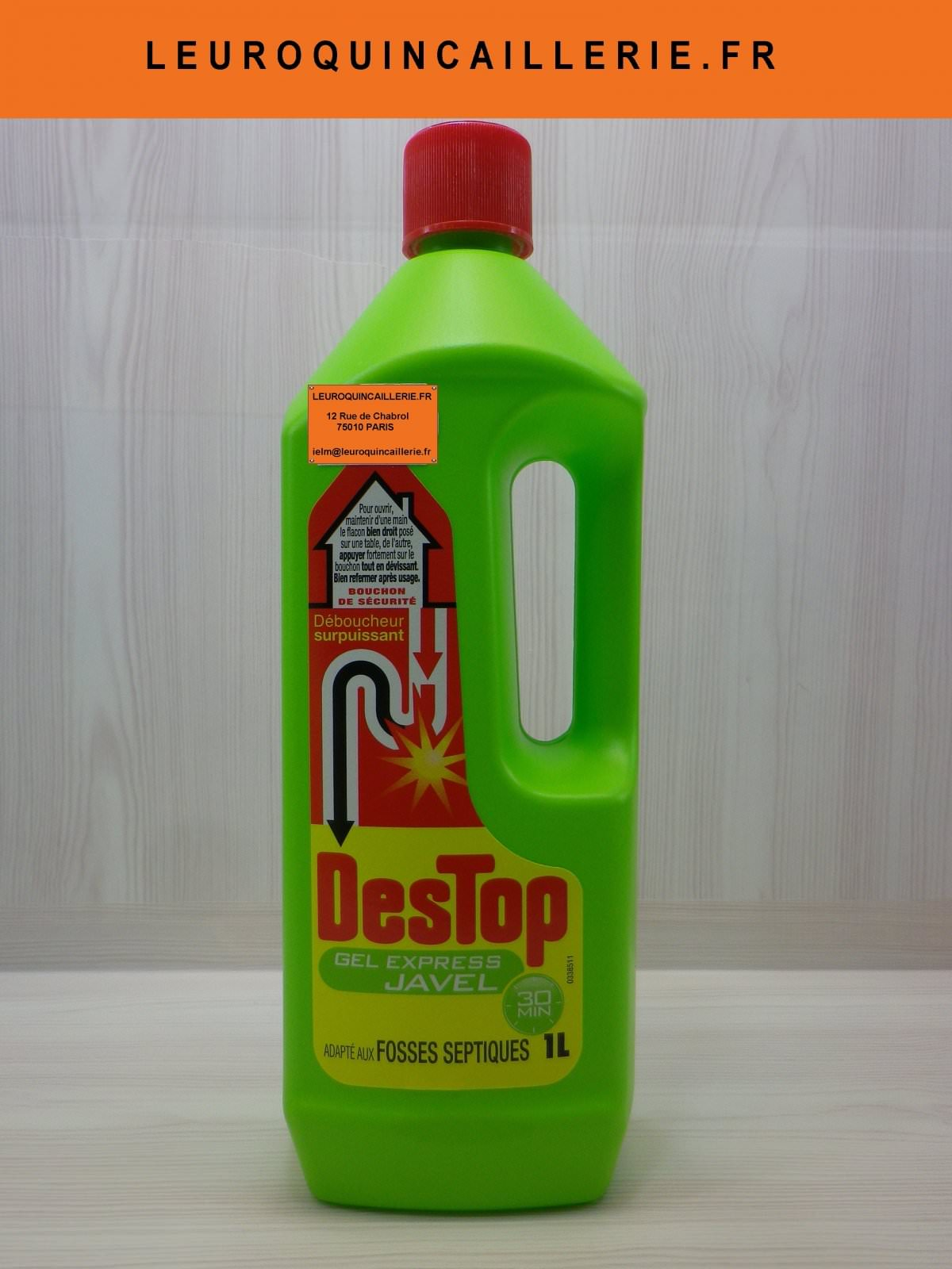 Destop gel expresse Javel