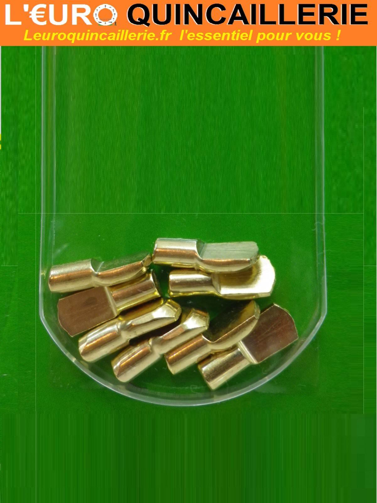 8 Taquets d'étagère D. 6mm