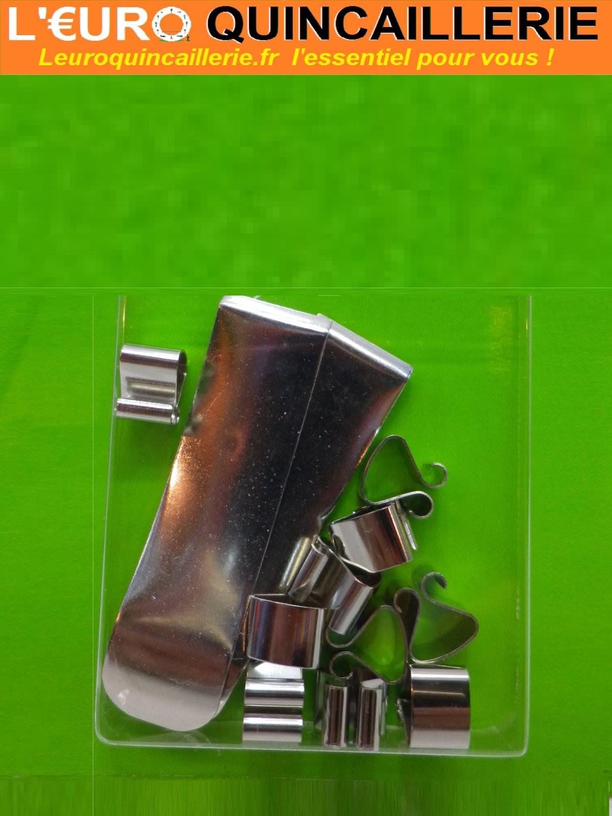 Pinces sous-verre 7mm