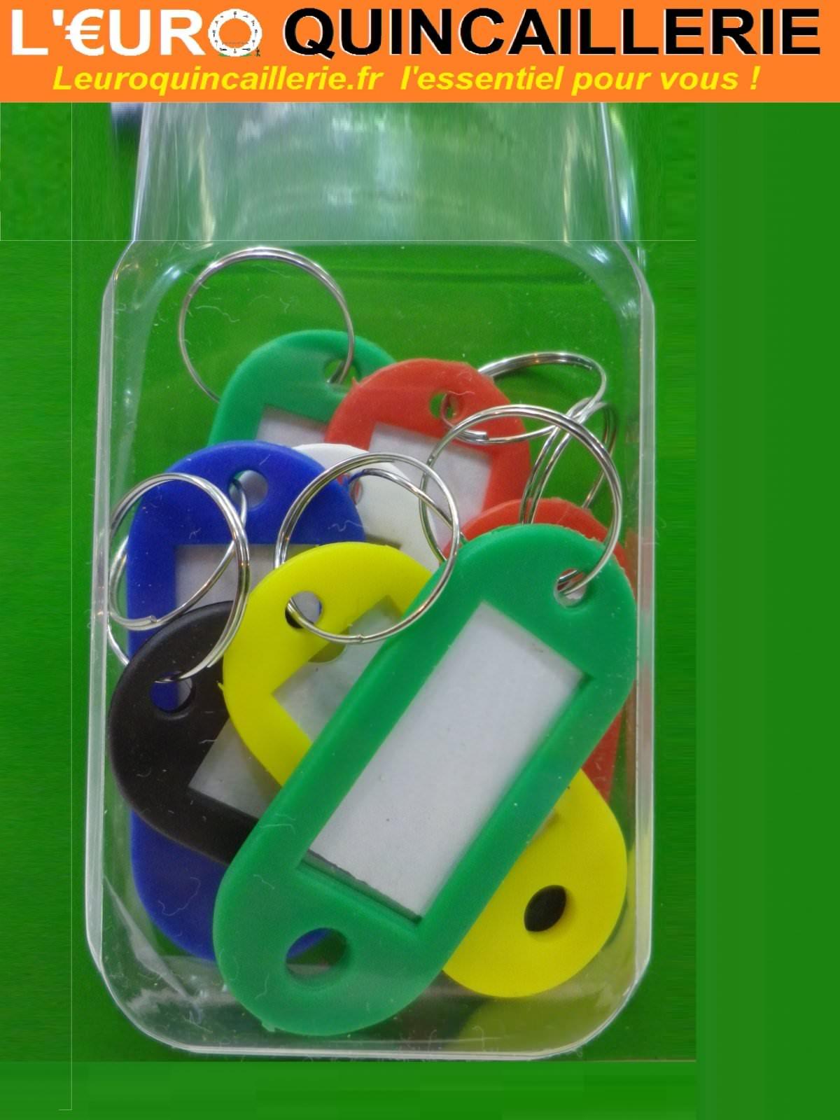 8 Porte-étiquettes plastiques