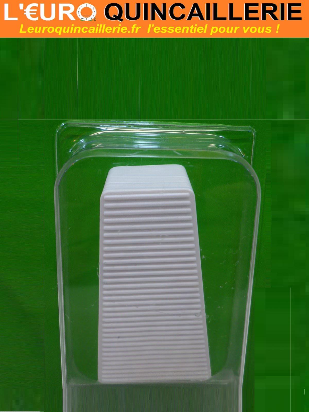 Butoir adhésif triangle blanc 70mm