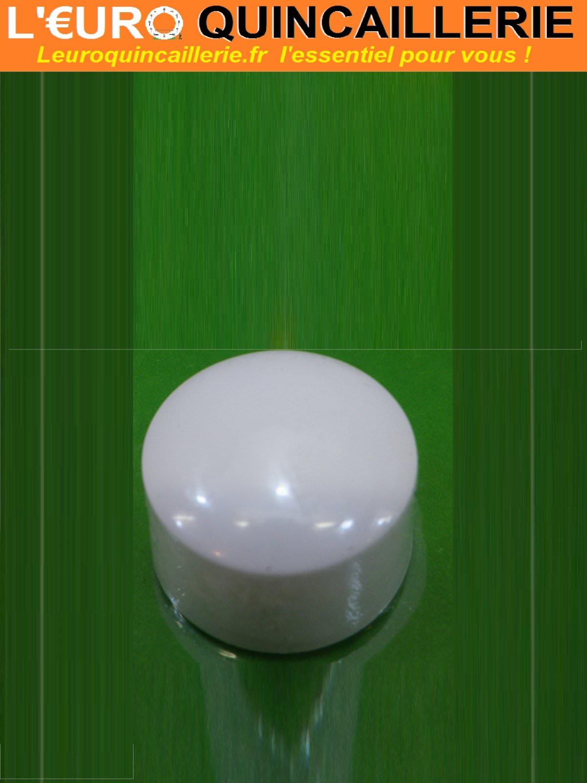 Butoir de porte adh sif blanc quincaillerie butoir for Butoir de porte mural