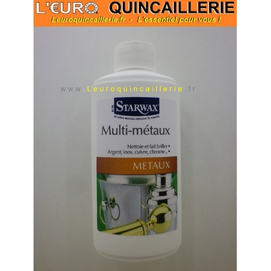 NETTOYANT MULTI METAUX STARWAX