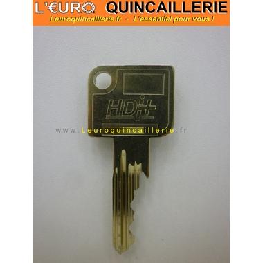 Clé Vachette HDI sur numéro brevetée
