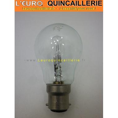 Ampoule classique halogène B22