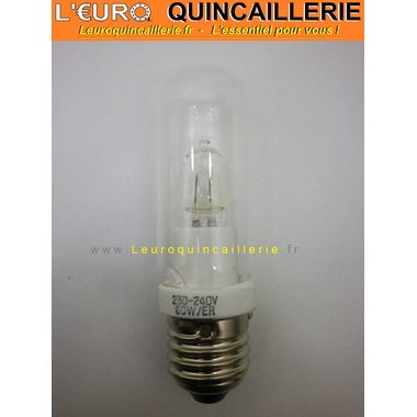 Ampoule Halogène E27 tube économique 80W=100W