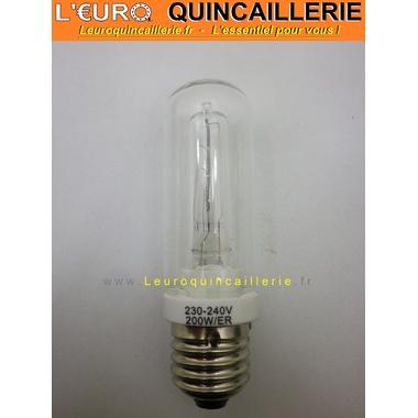 Ampoule Halogène E27 tube économique 200W=250W
