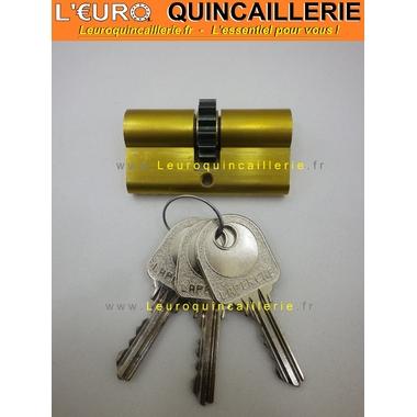 Cylindre roue denrée 14 dents Laperche avec 3 clés