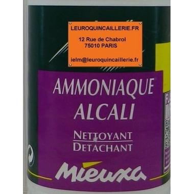 AMMONIAQUE ALCALI