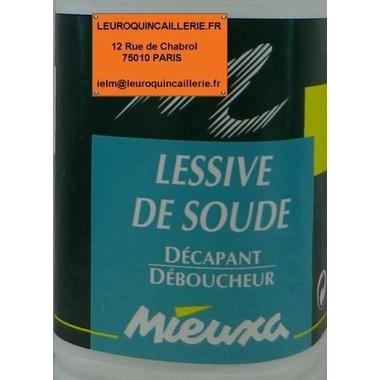 LESSIVE DE SOUDE
