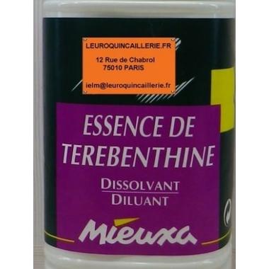 ESSENCE DE TEREBENTHINE