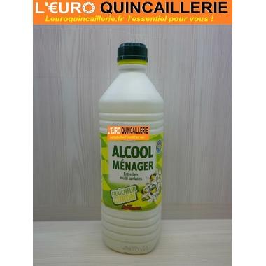 ALCOOL MENAGER FRAICHEUR CITRON 1 LITRE