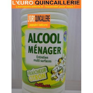 ALCOOL MENAGER FRAICHEUR CITRON 1LITRE