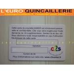CARTE DE PROPRIETE ANKER LEUROQUINCAILLERIE V