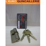 Cylindre roue dentée européen pour serrure Reelax Winkhaus VS6 avec 3 clés brevetées.