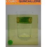 Verre Antique Bulle Jaune 4mm