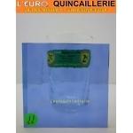 Verre Cathédrale Bleu 4mm 50cmx31cm