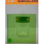 Verre Couleur Vert Uni 3mm