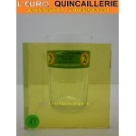 Verre antique coulé jaune  4 mm