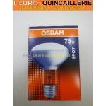 Ampoule spot R80 E27 75w Osram