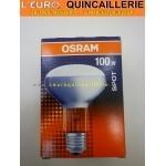 Ampoule spot R80 E27 100w Osram