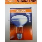 Ampoule spot R80 E27 40w Osram