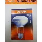Ampoule spot R80 E27 60w Osram