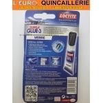 Super glue 3 Loctite 3g Spécial Verre mode demploi
